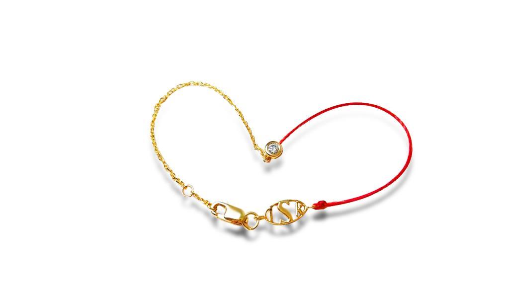 三生三世紅繩-鑽石款